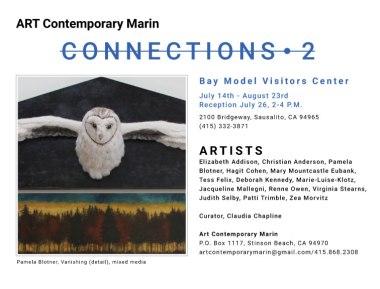 Art Contemporary Marin Postcard