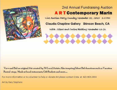 ART Contemporary Marin Fundraiser